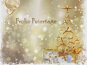 Schöne Weihnachten Grüße : weihnachtsbilder goldfarben weihnachtsgrussbilder ~ Haus.voiturepedia.club Haus und Dekorationen