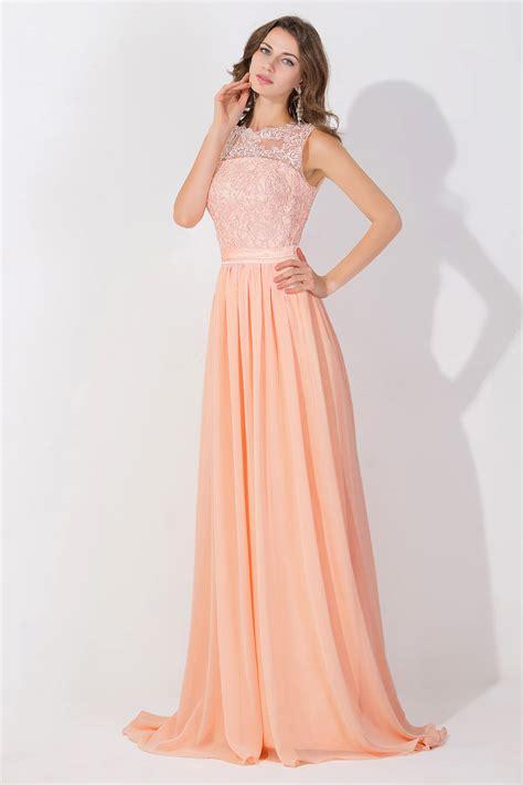 cheap pink elegant  prom dresses lace appliques