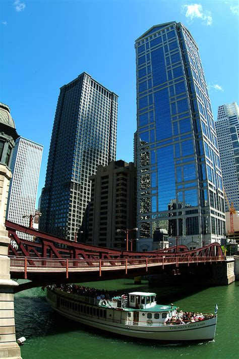 Chicago River Boat Tour by Chicago River Chicago Boat Tour By Dmitriy Margolin