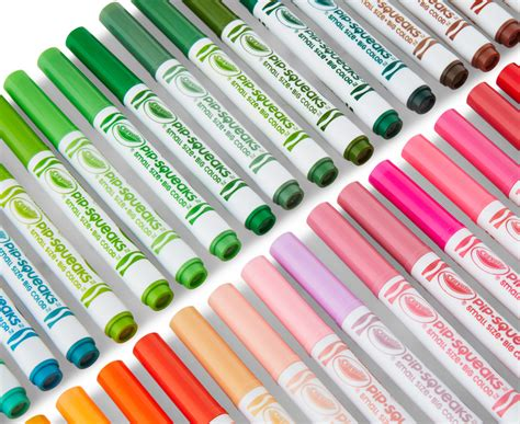 Crayola Pip-squeaks Skinnies Washable Markers 64-pack