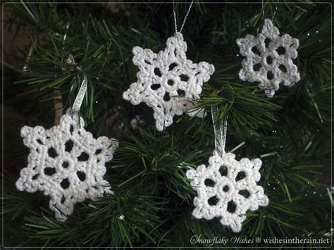 free pattern snowflake wishes 2 wishes in the - Christmas Tree Snowflake Pattern