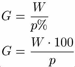 Grundwert Berechnen Aufgaben : prozentrechnung formeln prozentformel ~ Themetempest.com Abrechnung