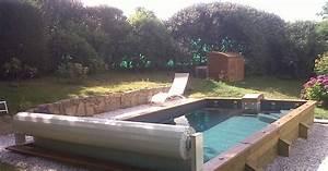 une piscine semi enterree pas cher faites des economies With piscine en bois semi enterree pas cher 2 une piscine semi enterree en beton