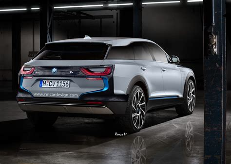 BMW i5 SUV Rendering Looks Modern and Tough - autoevolution