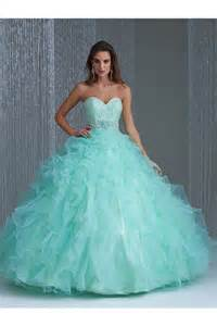 royal blue bridesmaid dresses plus size gown mint green organza ruffle lace beaded quinceanera prom dress