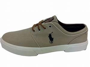 Ralph Lauren Graue Polo Ralph Lauren Sneaker FAXON LOW NE