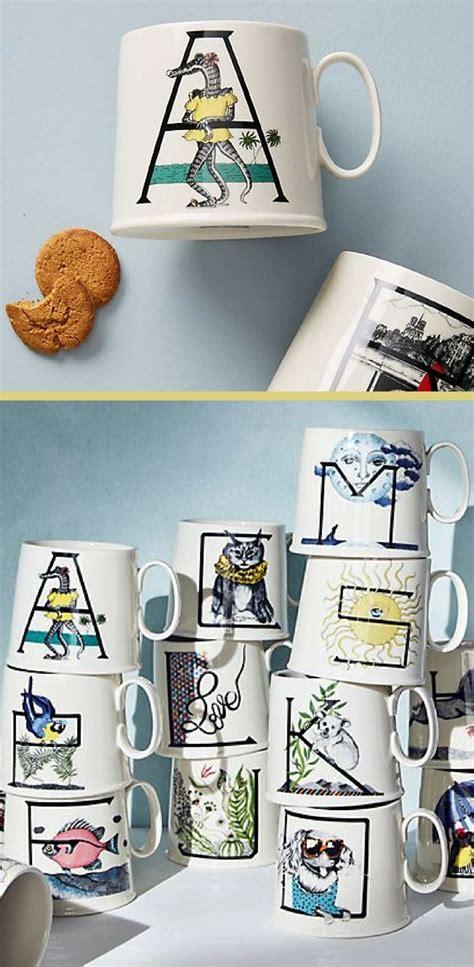 love animal alphabet monogram mug personalized coffee