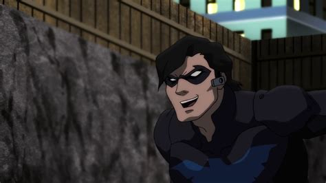 Nightwing Sex Talks Starfire While Fighting Blockbuster
