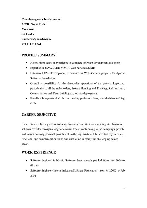 It Work Experience Resume Sample - How to draft an iT Work Experience Resume Sample? Download
