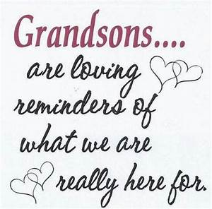 Best 25+ Grands... Nanny And Grandson Quotes