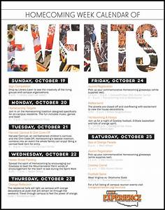 Upcoming Events Flyer Template - Yourweek #377ffeeca25e