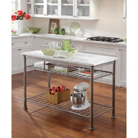 metal kitchen islands kitchen islands carts large stainless steel portable