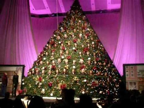 broadway church singing christmas tree 2008 vancouver
