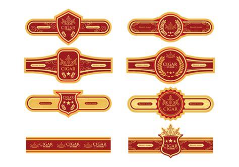 cigar label vector   vectors clipart