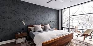 Tapeten Schlafzimmer Grau : schlafzimmer grau ein modernes schlafzimmer interior in grau freshouse ~ Markanthonyermac.com Haus und Dekorationen