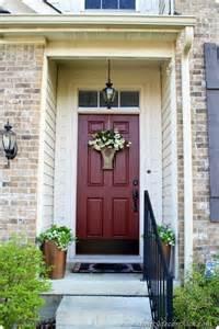 Front Door Colors for Brick Homes