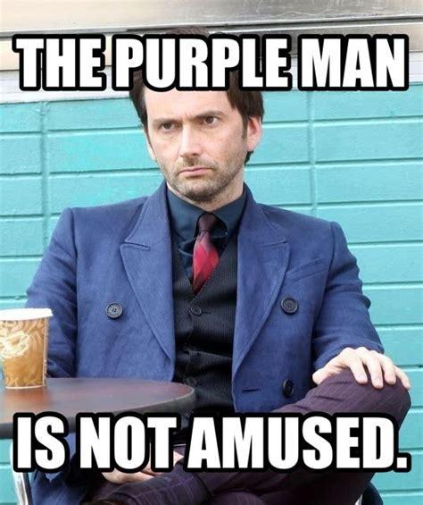 Jessica Meme - the purple man is not amused jessica jones meme david tennant tenth doctor pinterest