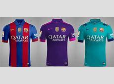 All 3 New FC Barcelona 201617 Kits Leaked