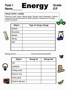 50 Work And Energy Worksheet Answers