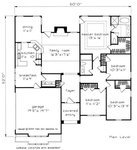 maple ridge house floor plan frank betz associates