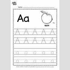 Little Dots Education  Free Alphabet Tracing Worksheets