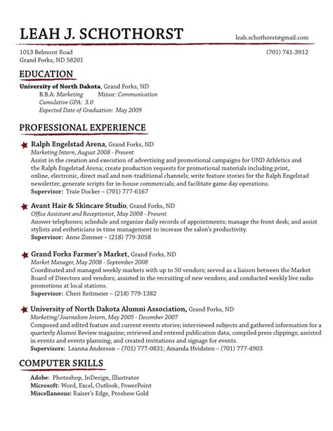 Make A Simple Resume by Creative Resume Would Do Quot Misc Skills Quot Rather Than