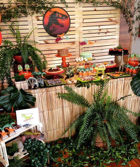 Jurassic Park Decorations - dinosaurs birthday ideas dessert tables on catch