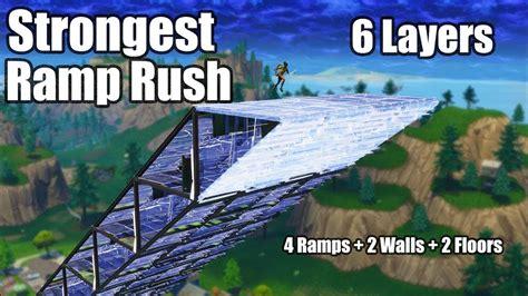layer ramp rush tutorial fortnite battle royale