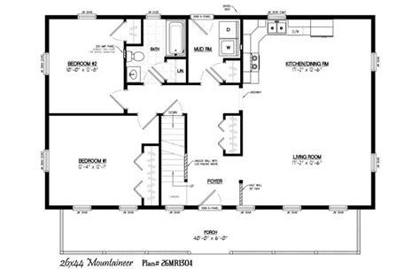 40x40 Floor Plans  Google Search  Barndo Plans