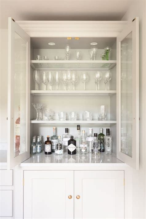 Kitchen Cupboard Tops by The 25 Best Corner Liquor Cabinet Ideas On