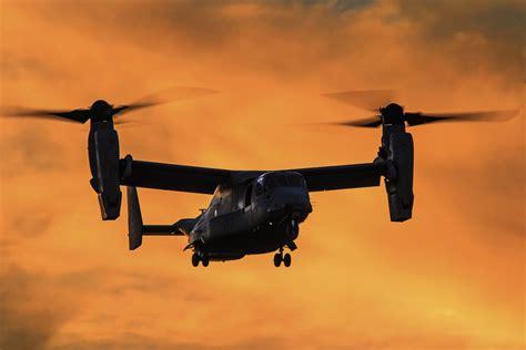 Wallpaper Bell Boeing V-22 Osprey, Tiltrotor, Military Aircraft, 4k, Military, #2552