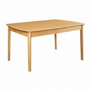 my mia table de salle a manger extensible en frene habitat With salle À manger contemporaineavec table de salle a manger extensible