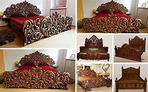 Unique, Handmade, Wooden, Bed, Frame, Decor, You, Will, Love