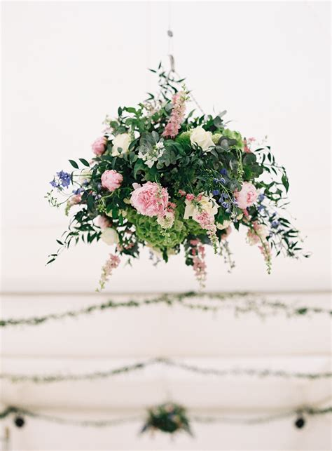 wedding hanging basket   marquee  nicky