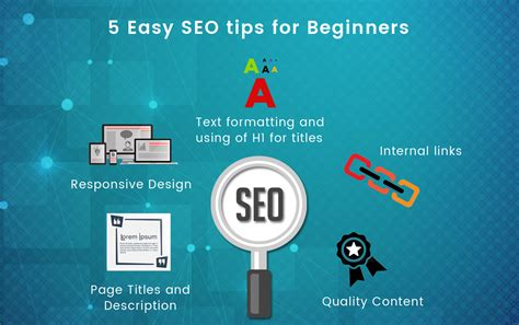 Seo Tips by 5 Easy Seo Tips For Beginners