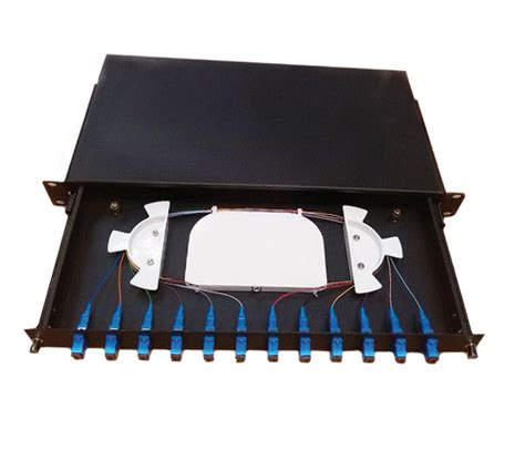 Patch Panel 12 by 12 Fiber Optic Patch Panel