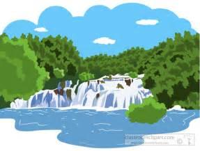 Mountain River Clip Art