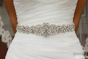 2016 crystal sashes for wedding bridal rhinestone belt for Wedding dress sashes with crystals