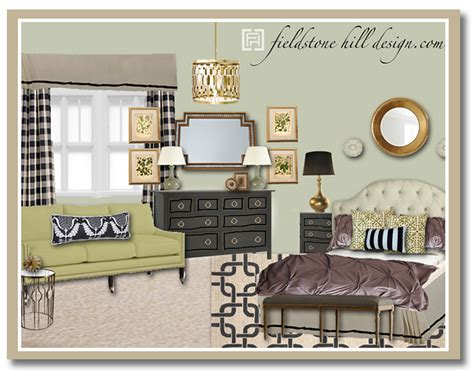 Heathers Master Bedroom Design Board1  Fieldstone Hill