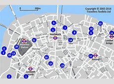 London County Hall Waterloo Station Hotel Street Map