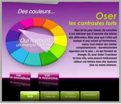 simulateur peinture chambre choisir les couleurs des meubles associee avec couleur