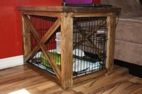dog crate night stand foter