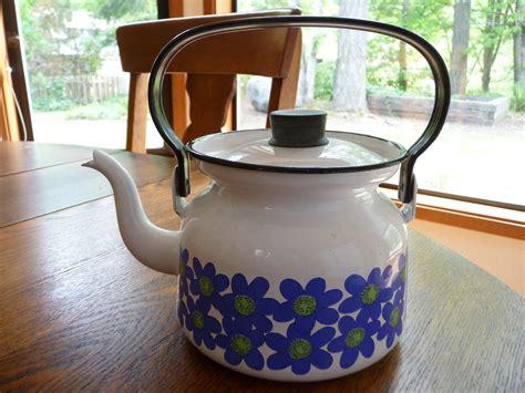 Kitchen Living Tea Kettle by Finel Enamel Tea Kettle Made In Finland A World Of