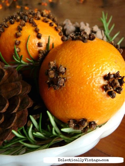 christmas tree smells like oranges how to make pomanders that last eclectically vintage