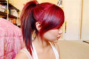 Red hair color with blonde highlights in 2016, amazing ...