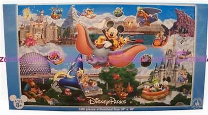 Disney Puzzle Panoramic Jigsaw 500 Piece Puzzles