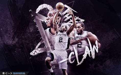 Spurs Background Kawhi Leonard Wallpapers Wallpaper Cave