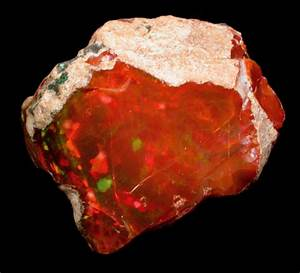 Photographs of mineral No. 36778: Opal var. Precious Opal ...