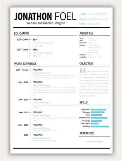 awesome resumecv free amazing collection of free cv resume templates