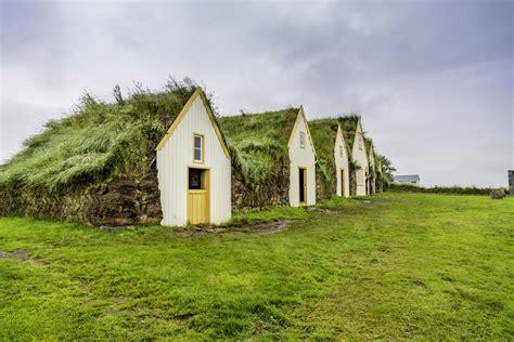 icelandic turf houses  cute  surprisingly cozy